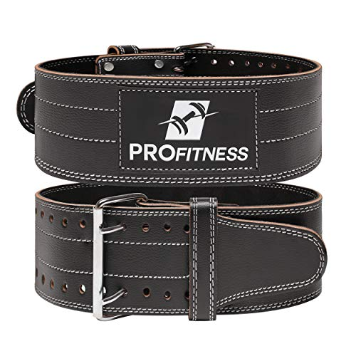 Profitness pre-broken-In weight lifting belt (4 inches wide) image