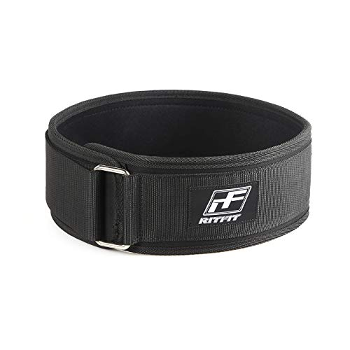 Ritfit 4-inches low profile weightlifting belt image